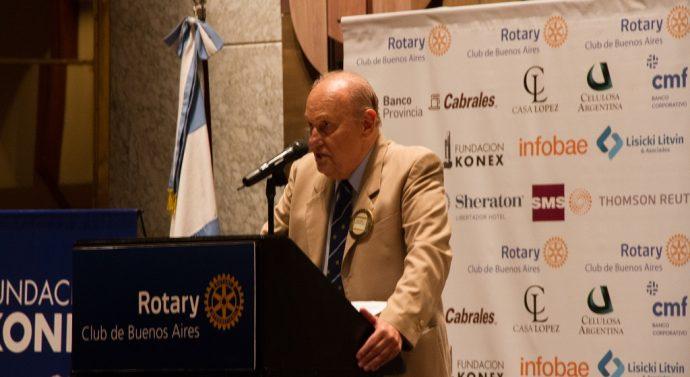 Juan José Guaresti (nieto) participará de la cena de Transmisión de Autoridades del Rotary Club de Asunción